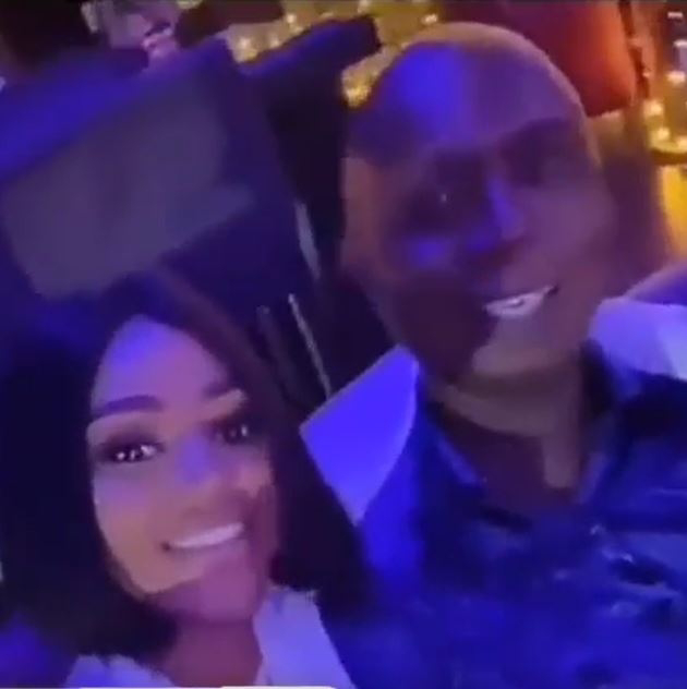 Better divorce the old man and marry a fresh boy – Angry fans tells Regina Daniels after spotting her clubbing with Ned (Video)