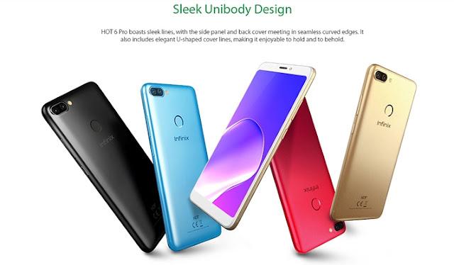 Infinix Hot 6 Pro Phones