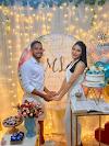O casamento do jogador Marco Antônio e a cantora Larissa