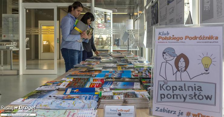 Klub Polskiego Podróżnika - Kopalnia Pomysłów z darmowymi przewodnikami