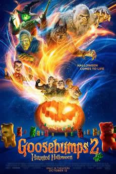 Capa Goosebumps 2 – Halloween Assombrado (2018) Dublado Torrent
