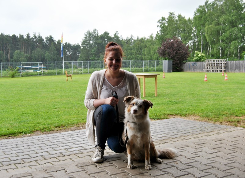 Julia mit Lina