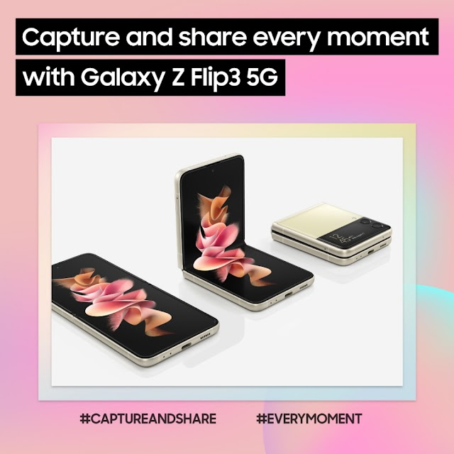 [Infographic] Make the Samsung Galaxy Z Flip3 5G Your Top Smartphone Choice for Capturing and Sharing Best Moments