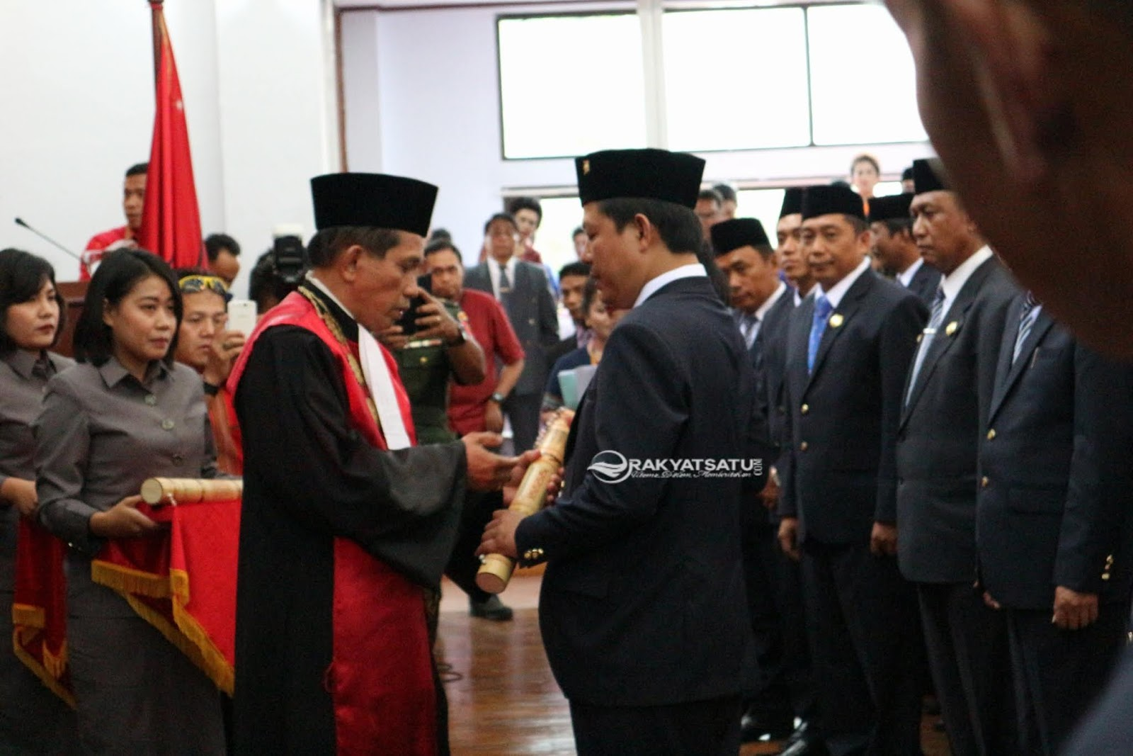 30 Anggota DPRD Kabupaten Tana Toraja Resmi Dilantik, Ketua Sementara Dipimpin Partai Golkar