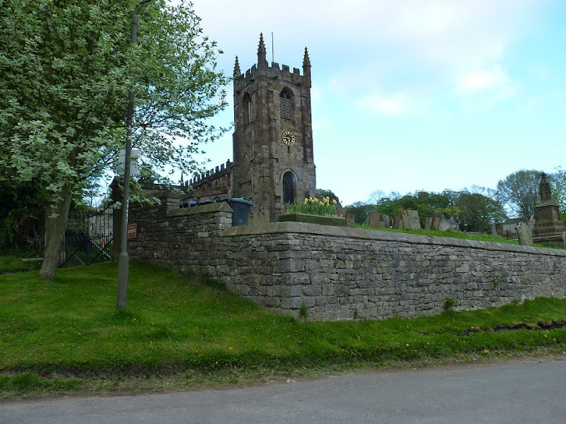 The church at Hartington