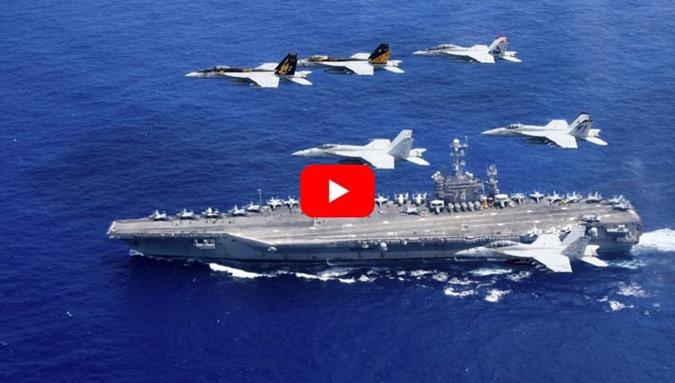 Marinha Americana mostra avistamento de OVNI