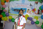 "PUBLIC SPEAKING Competition Participant. Topic-""Saint from India who inspires me the most and why"" for Juniour Group [Class 5th, 6th & 7th] and ""Saint of India and his/her role in the society"" [Class 8th, 9th & 10th]."