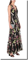 Alice and Olivia Jaquard Maxi Dress