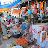 Sasak market in Labuhan Pandan