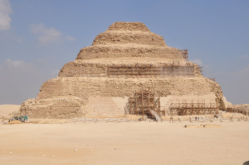 Djoser's Pyramid at Saqqara