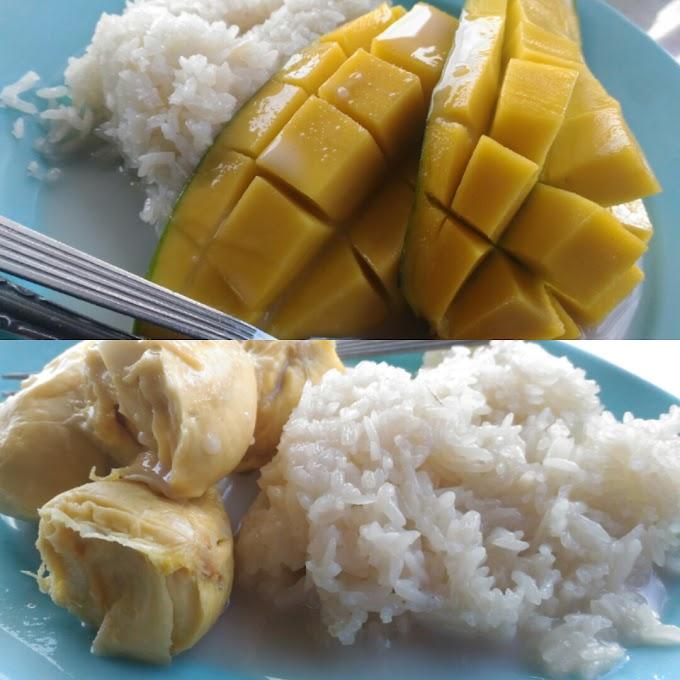 Pulut Durian Di Luar Musim Durian