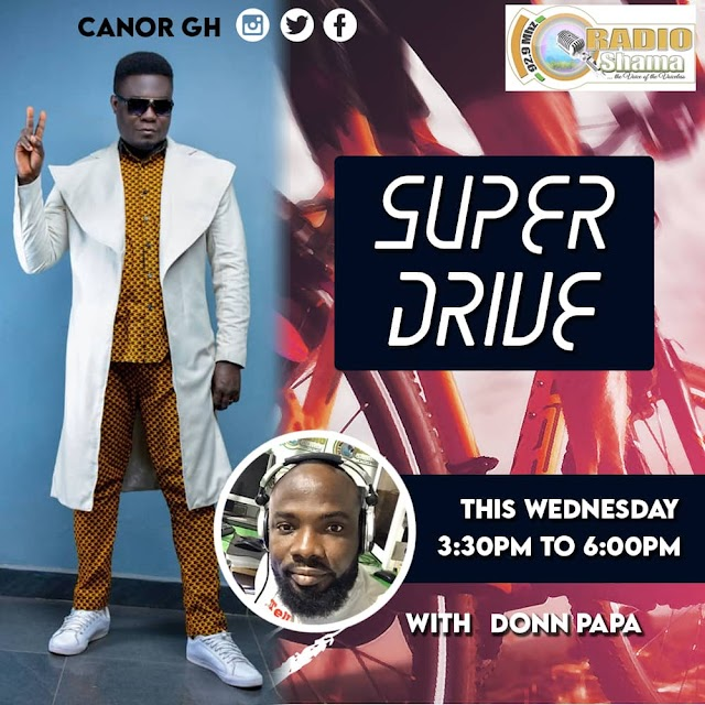 Canor GH will be interviewed live on Radio Shama (9.29MTZ) this coming Wednesday.
