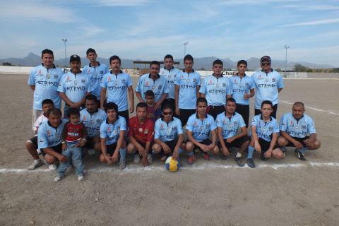 Hacienda Soccer del torneo de primera fuerza de la Liga Municipal de Futbol Soccer