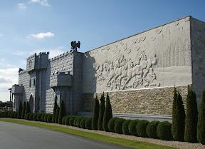 Castle, Exterior, Horse, Relief, Showroom
