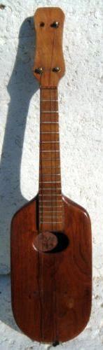 W.H. Zerbe Paddle Ukulele