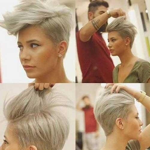 Unique Pixie Haircut for Girls 2017