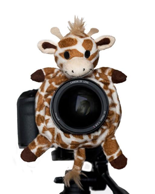 accesorio_para_camara_fotografica_para photoshoot_publivitario_de_niños_jirafa