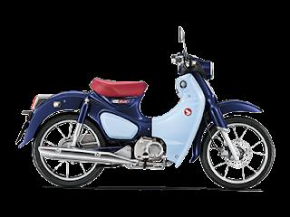 Cub C 125 motor Honda klasik pilihan bagi kamu yang suka model lama , bisa mengobatinya di model  ini