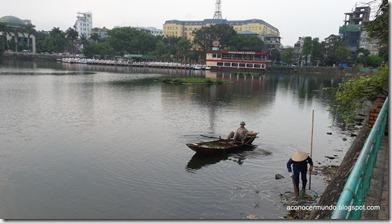 Hanoi. Lago Trúc Bạch