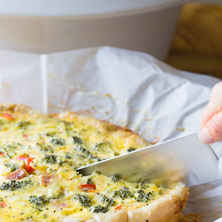 Slow Cooker Easy Quiche