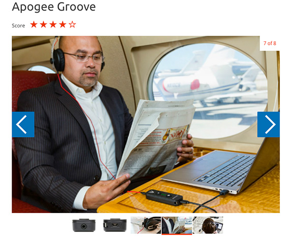 Trusted groove 560