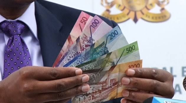 New Kenyan notes displayed. New currency in Kenya. PHOTO   BANA