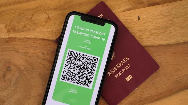 EEUU  pudiera establecer  un pasaporte de vacunación, para viajes internacionales