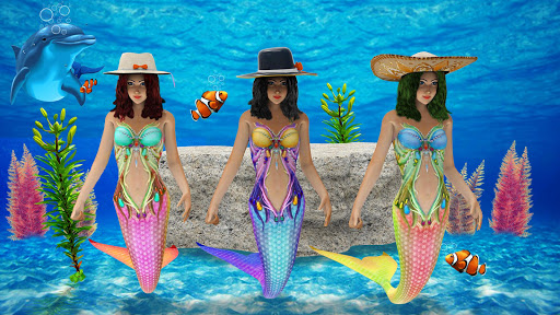 Mermaid Race 2020: Real Mermaid Simulator Games 3d  screenshots 1