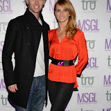 WWW.ENTSIMAGES.COM -      Trent Whiddon and Gordana Whiddon    arriving    at      The MediaSkin Gifting Lounge at Stamp 79 Oxford Street London November 6th 2014                                                 Photo Mobis Photos/OIC 0203 174 1069