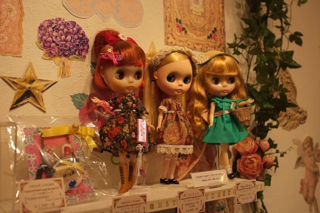 Junie Moon in Daikanyama, Blythe flagship store