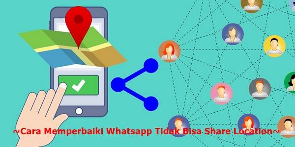 Begini loh cara memperbaiki Whatsapp tidak bisa share location 3 Cara Memperbaiki Whatsapp Tidak Bisa Share Location