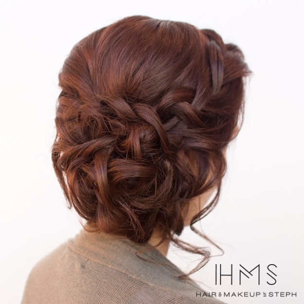 Hairstyles for any wedding -2017 8