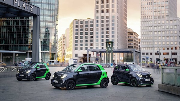 Electric Smart ForTwo ForFour