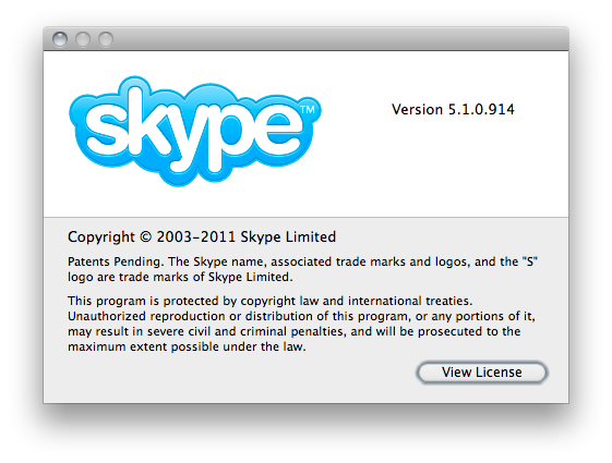 Download skype 5 1 for mac 10.8