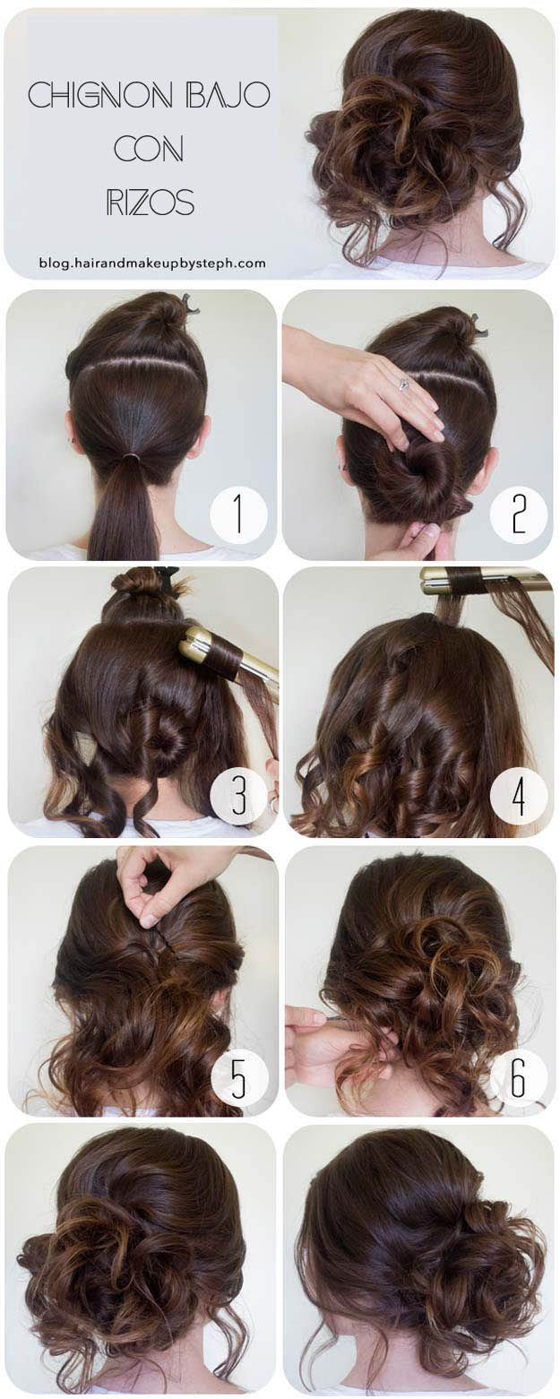 + 25 easy hairstyles 2018-2019 step by step 7