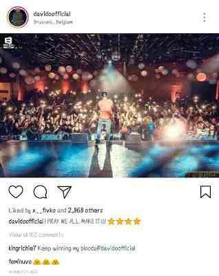 Davido Ends Beef With Wizkid