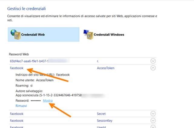 credenziali-web