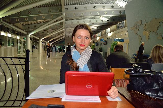 Жду вылета из Подгорицы в Белград