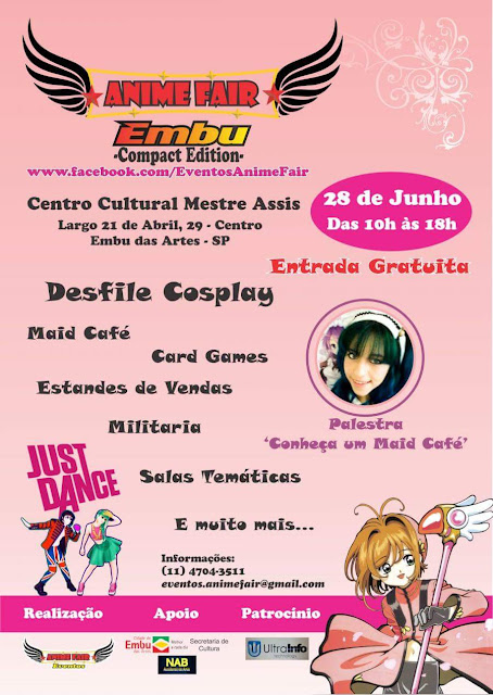 Anime Fair Embu das Artes. 28/06/2015. AnimaEmbu 2015.