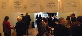 Stolpersteine Enschede bijeenkomst in Concordia. Maart 2015. Er zijn in 2015 50 stenen gelegd in Enschede. Meer info www.secondworldwar.nl/enschede/