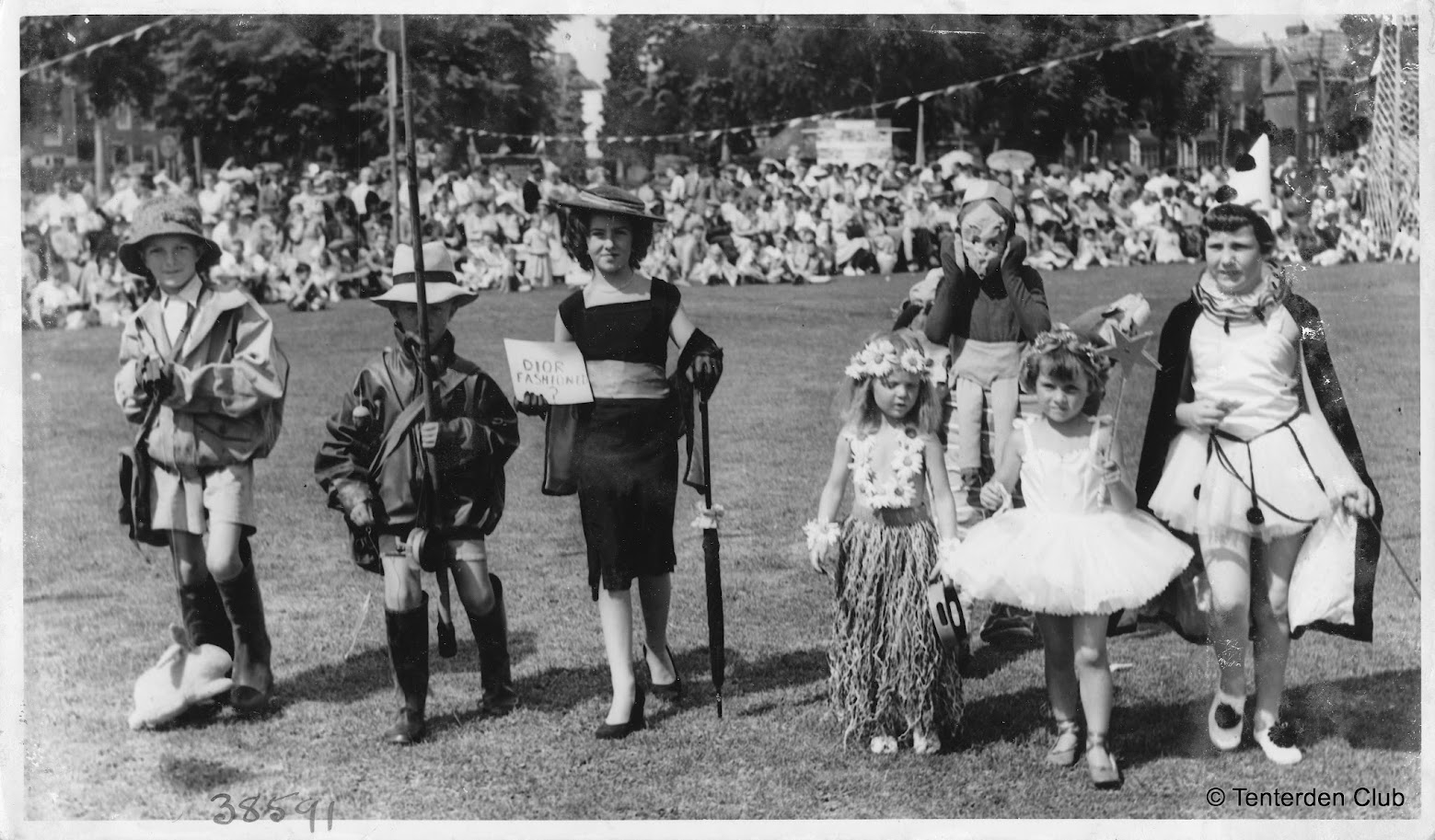 Tenterden Club Gala Day 1950s - Archive Photos