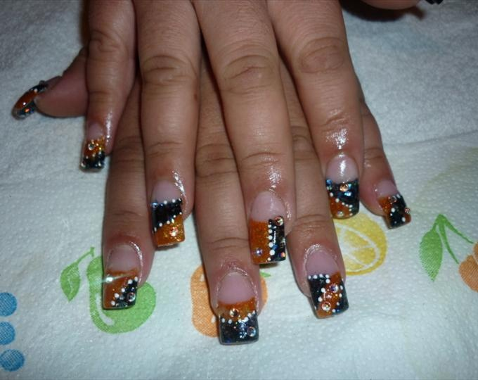 To Harley Davidson's huge fans, you'll be able to wear all its recognizable  signs on your nails. Today, we've gathered up ten radical cool Harley  Davidson ... - 10 Ultra Cool Harley Davidson Nail Designs 2015 . Fashionte