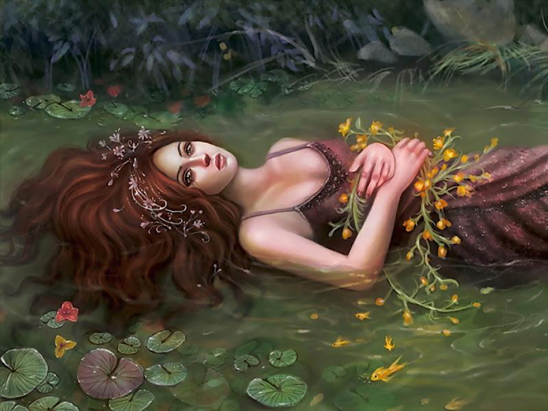 Swimming In River, Magic Beauties 3