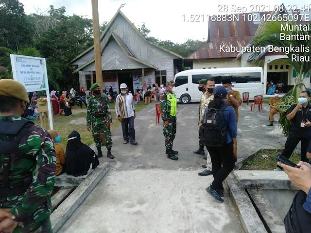 Serda Rustam Melakukan Komsos Bersama Masyarakat Desa Muntai Barat