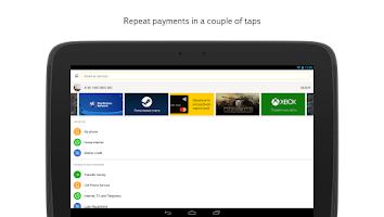 Screenshot of Yandex.Money