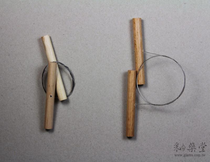 陶藝工具-線切中國與臺灣製比較