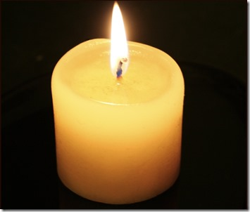 Candle-flame-no-reflection