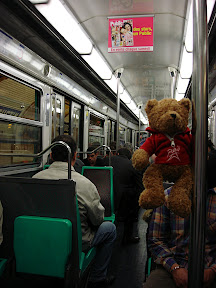 The Bear on the Metro.