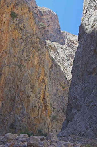 Gorges d'Aradena (Φαράγγι Αράδαινας).