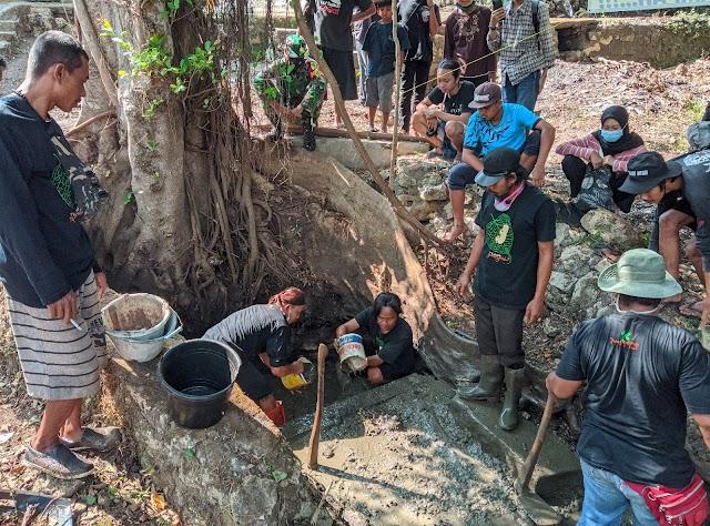 Memperingati Hari Lingkungan Hidup Sedunia ,Pemuda Dawe Dan Komunitas Resan Bersih-bersih Kali